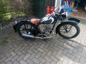 Barn find Peugeot griffon 1949, 125cc, type 555