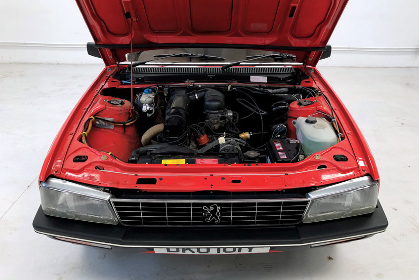 1982 Peugeot 505 GR Estate auto *RESERVED!* For Sale (picture 8 of 10)