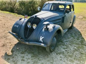 1936 A Rare Peugeot 302 Airstream Wehrmacht staff car