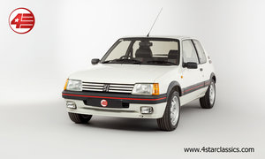 1989 Peugeot 205 GTI 1.9 /// Non-Sunroof /// 43k Miles For Sale