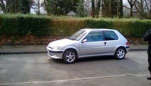 Rare Peugeot 106 quicksilver