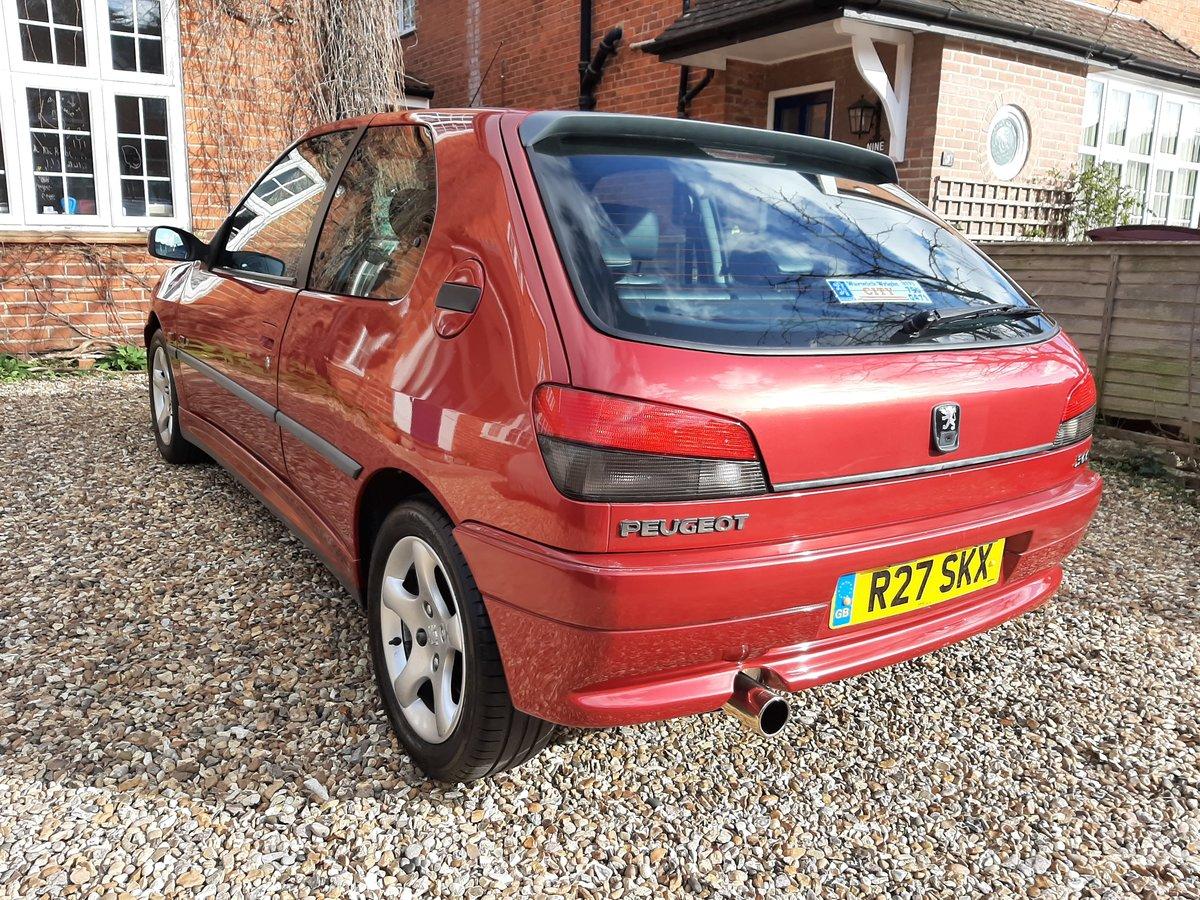 1997 Peugeot 306 GTi-6 FSH ### DEPOSIT TAKEN ### For Sale (picture 2 of 6)