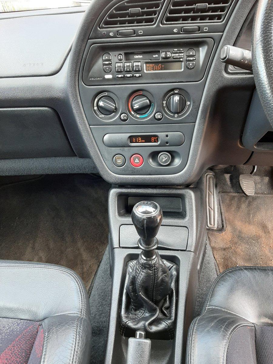 1997 Peugeot 306 GTi-6 FSH ### DEPOSIT TAKEN ### For Sale (picture 5 of 6)