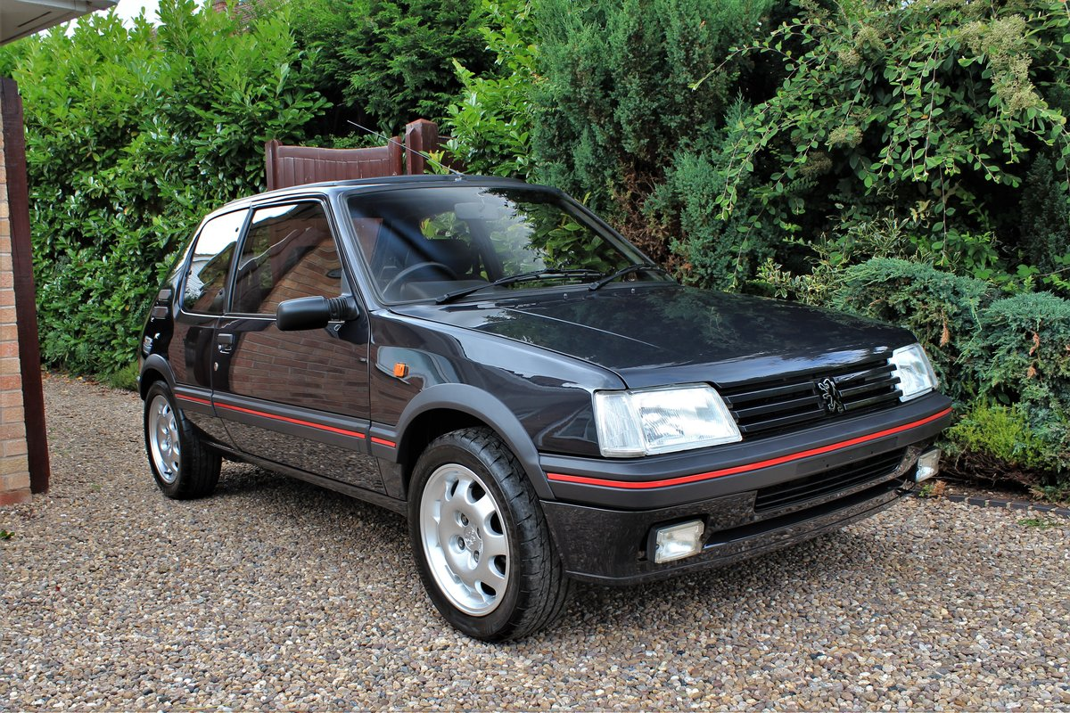 1991 Peugeot 205 GTI 1.9,65,534 miles,A/C,Seibu Japan For Sale (picture 2 of 6)