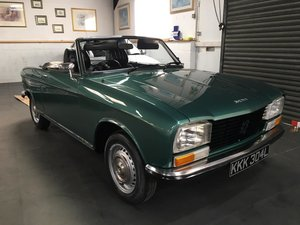 1973 (L) Peugeot 304 S Convertible - DEPOSIT NOW PAID