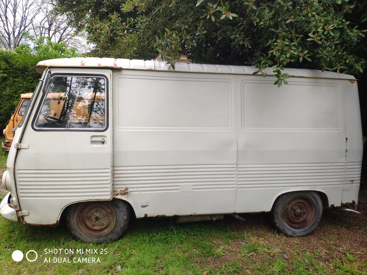 1978 Classic French Peugeot J7 Van Ideal Project For Sale (picture 4 of 6)