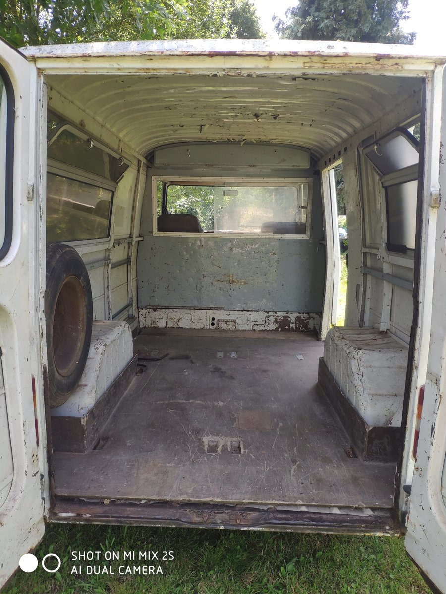 1985 Peugeot J9 Van Original French Classic LHD For Sale (picture 5 of 6)