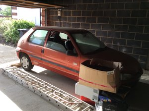 106 Very Dusty Barn Find - needs a bargain hunter