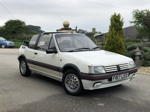 **PEUGEOT 205 1.6 CTI LOW MILEAGE OWNER SINCE 2006**