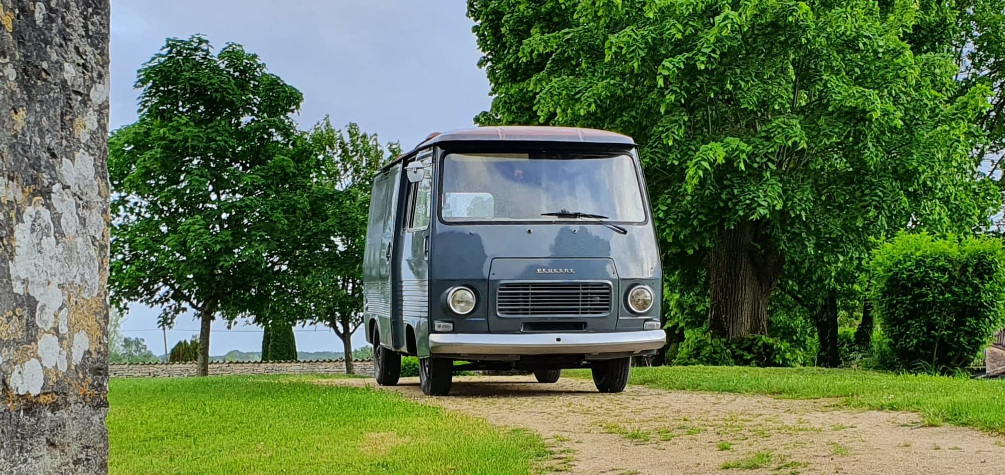 1978 Peugeot J7, retro camper , catering, foodtruck For Sale (picture 1 of 6)