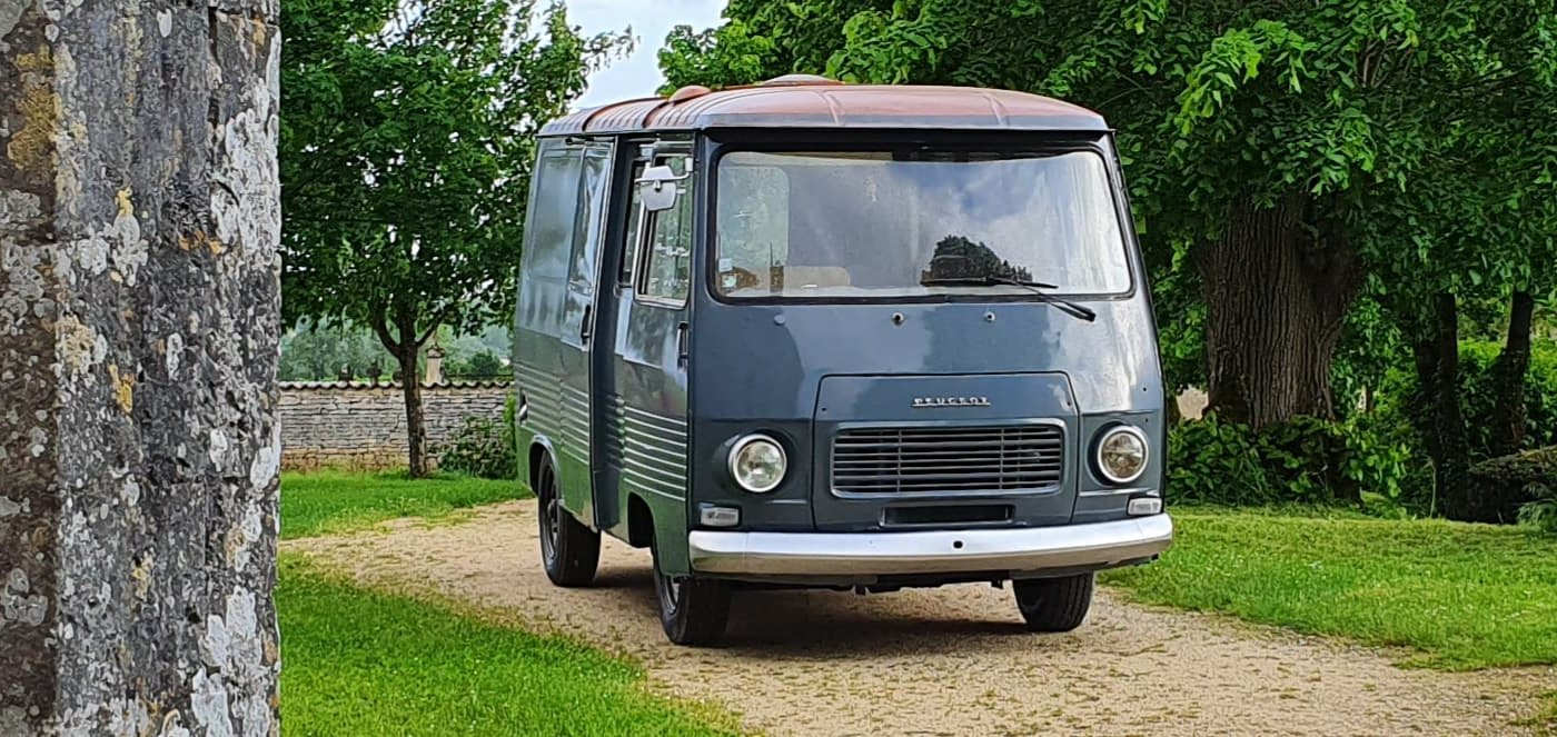 1978 Peugeot J7, retro camper , catering, foodtruck For Sale (picture 2 of 6)