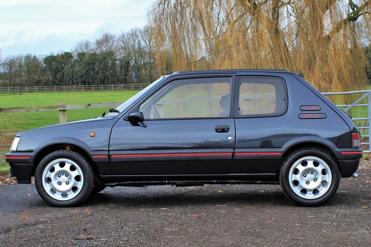 1991 Peugeot 205 GTI 1.9,65,534 miles,A/C,Seibu Japan For Sale (picture 1 of 6)