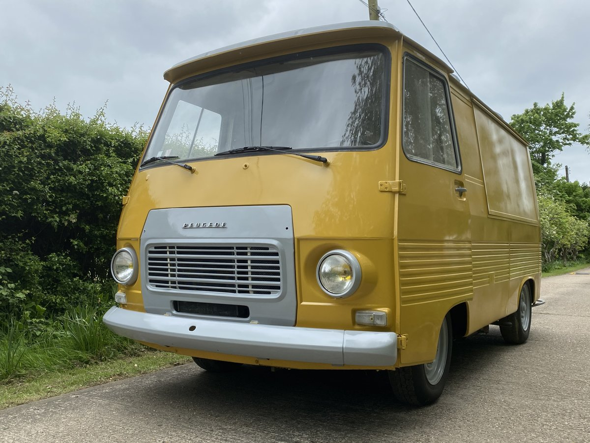 1976 Peugeot J7 catering van New stunning conversion For Sale (picture 1 of 6)
