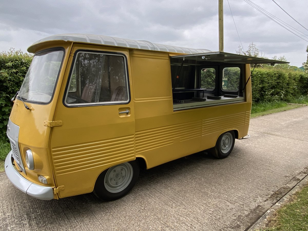 1976 Peugeot J7 catering van New stunning conversion For Sale (picture 2 of 6)