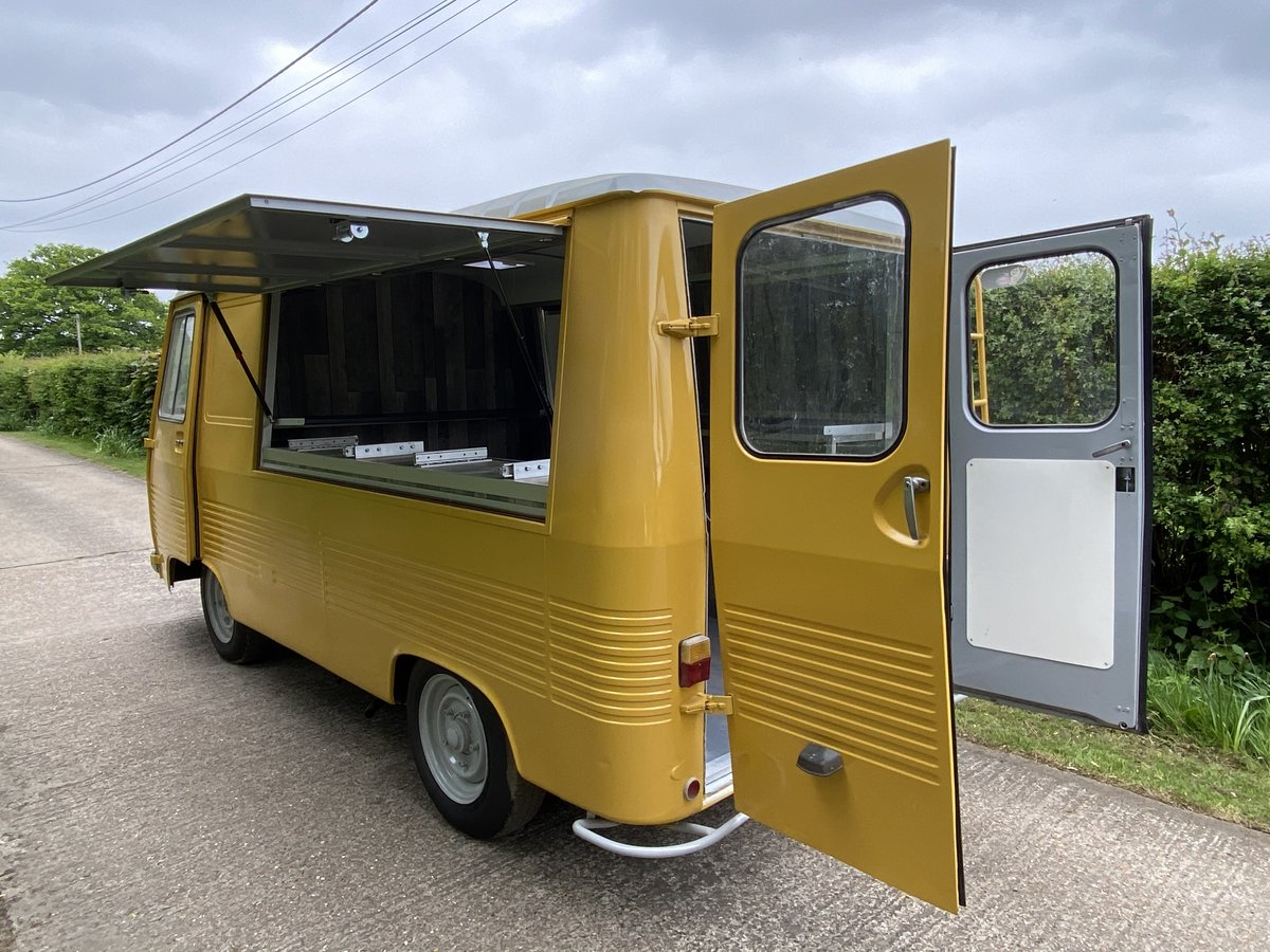 1976 Peugeot J7 catering van New stunning conversion For Sale (picture 5 of 6)