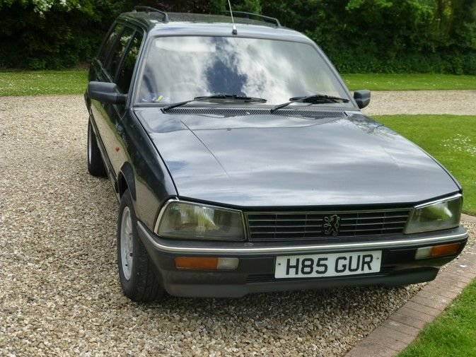 1991 Peugot 505 GRD Family Estate For Sale (picture 4 of 6)
