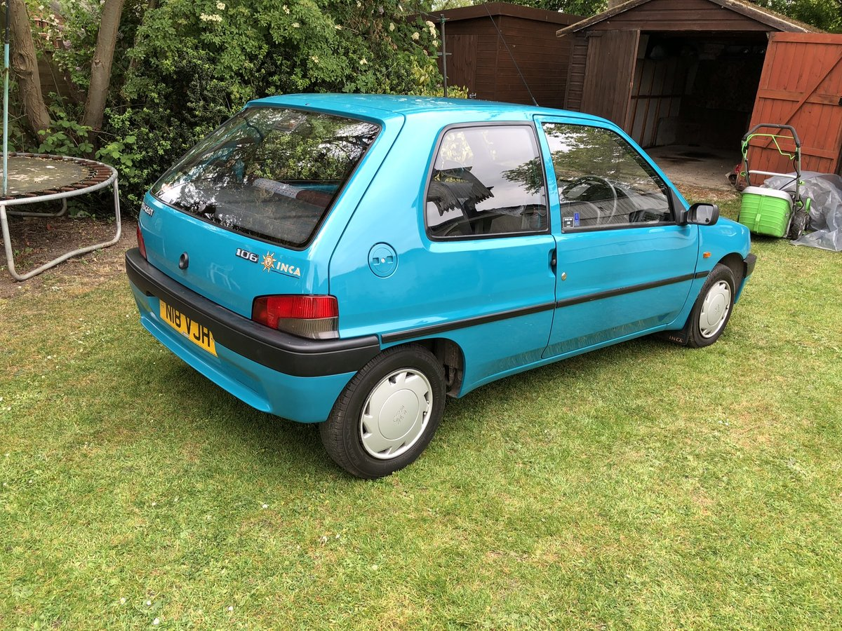 1995 Peugeot 106 Inca For Sale (picture 2 of 6)