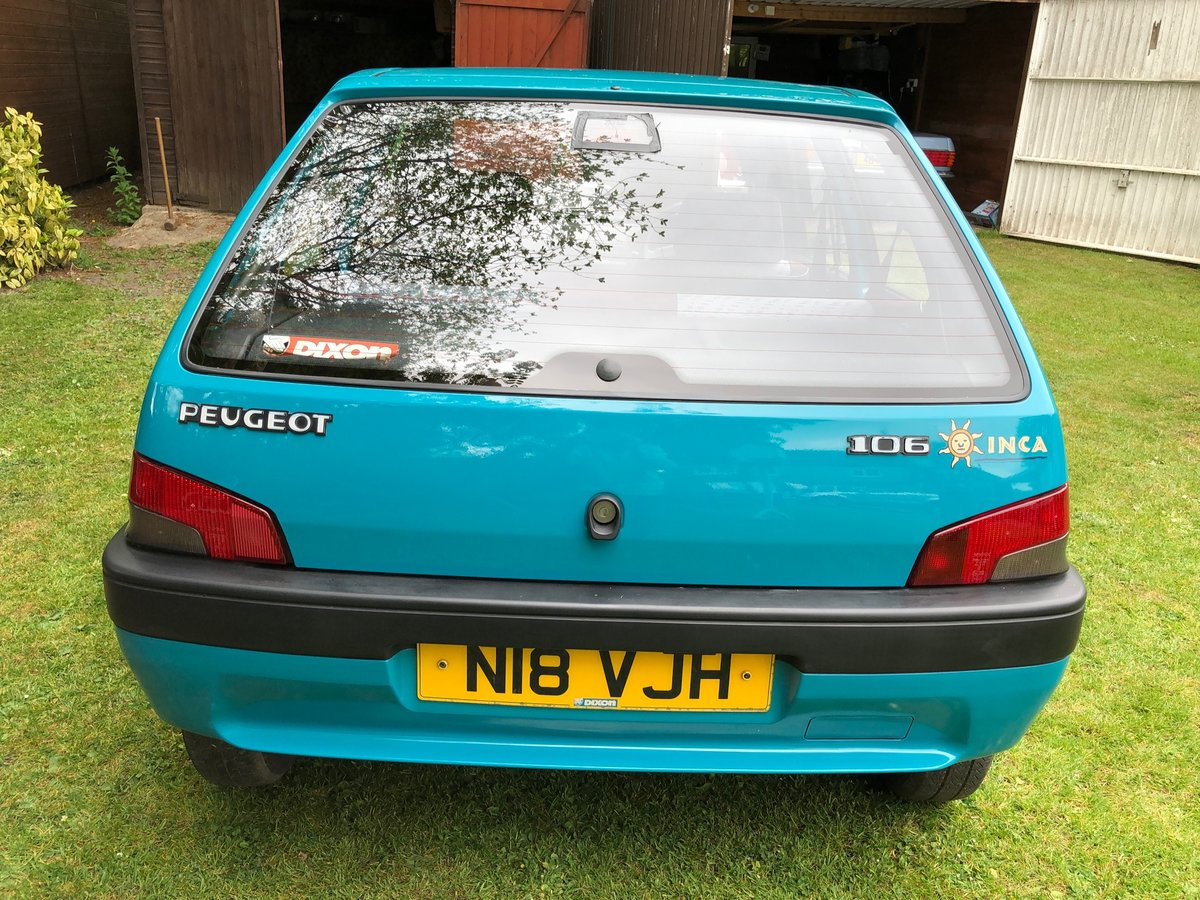 1995 Peugeot 106 Inca For Sale (picture 6 of 6)