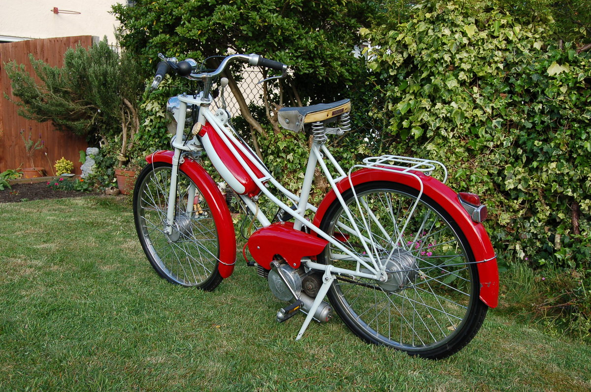 1957 Peugeot 49cc Bima Autocycle - UK registered For Sale (picture 2 of 5)