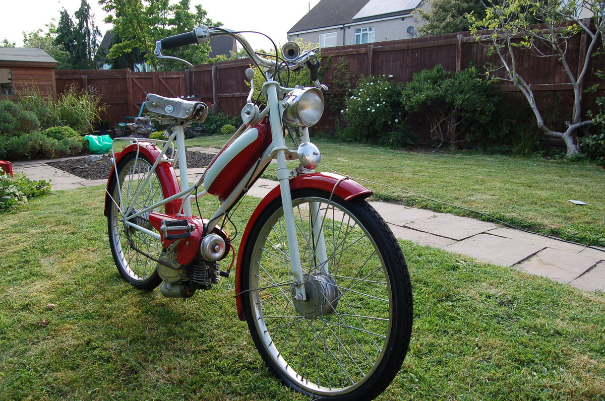1957 Peugeot 49cc Bima Autocycle - UK registered For Sale (picture 3 of 5)