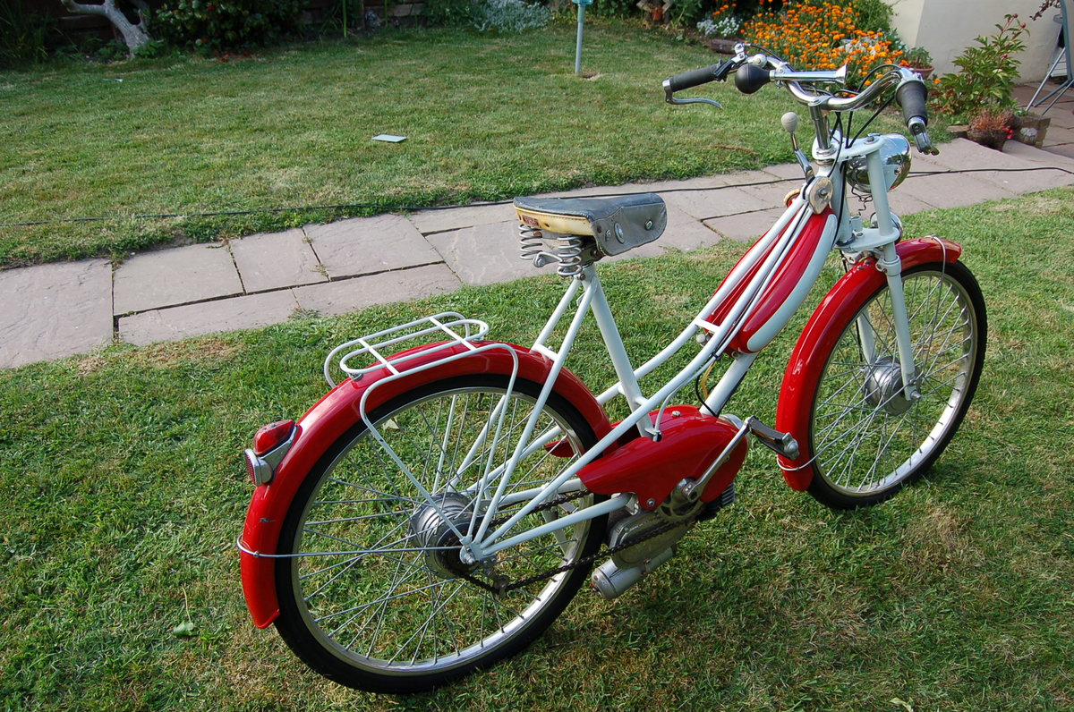 1957 Peugeot 49cc Bima Autocycle - UK registered For Sale (picture 4 of 5)
