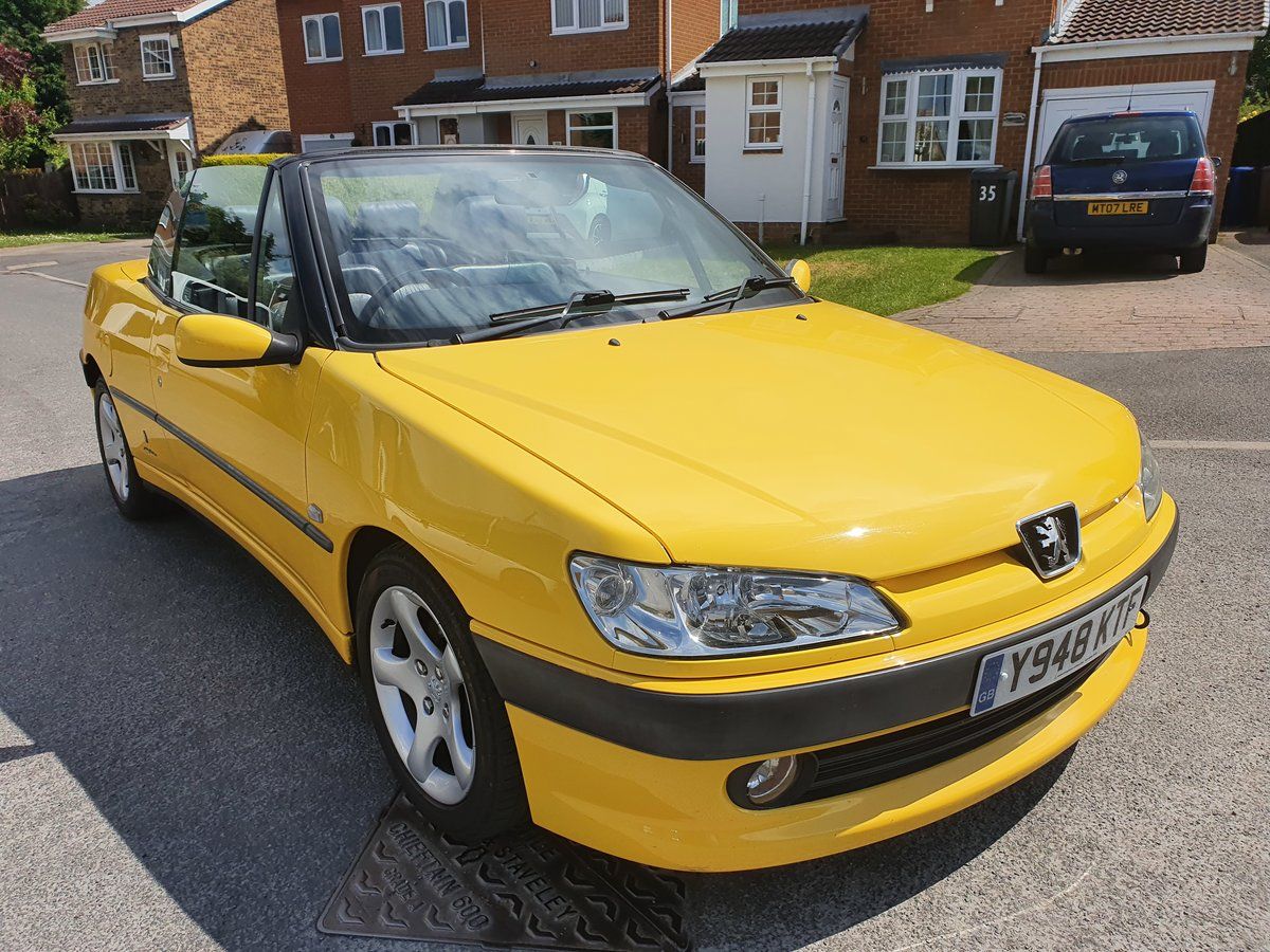 2001 Peugeot 306 Convertible 1.8SE 62k SOLD (picture 1 of 6)