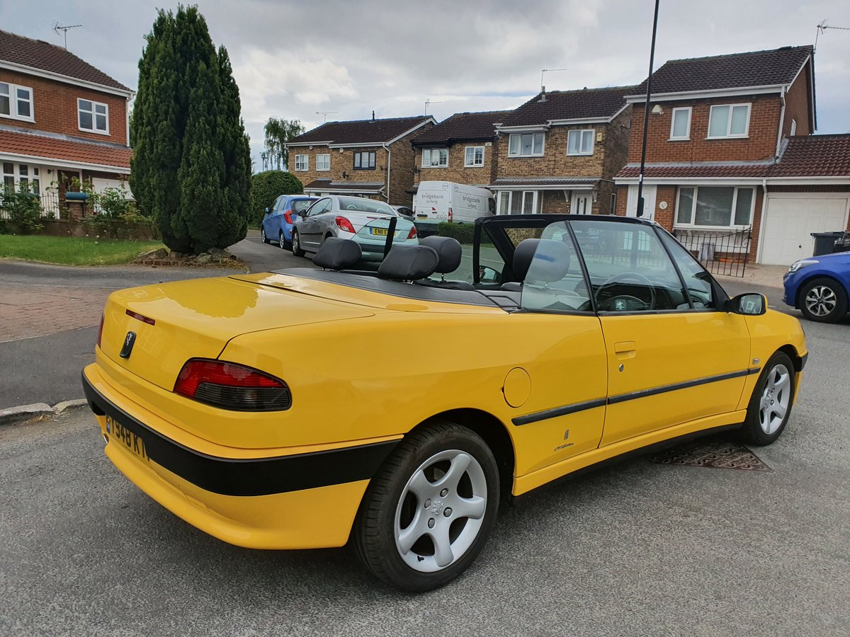 2001 Peugeot 306 Convertible 1.8SE 62k SOLD (picture 5 of 6)