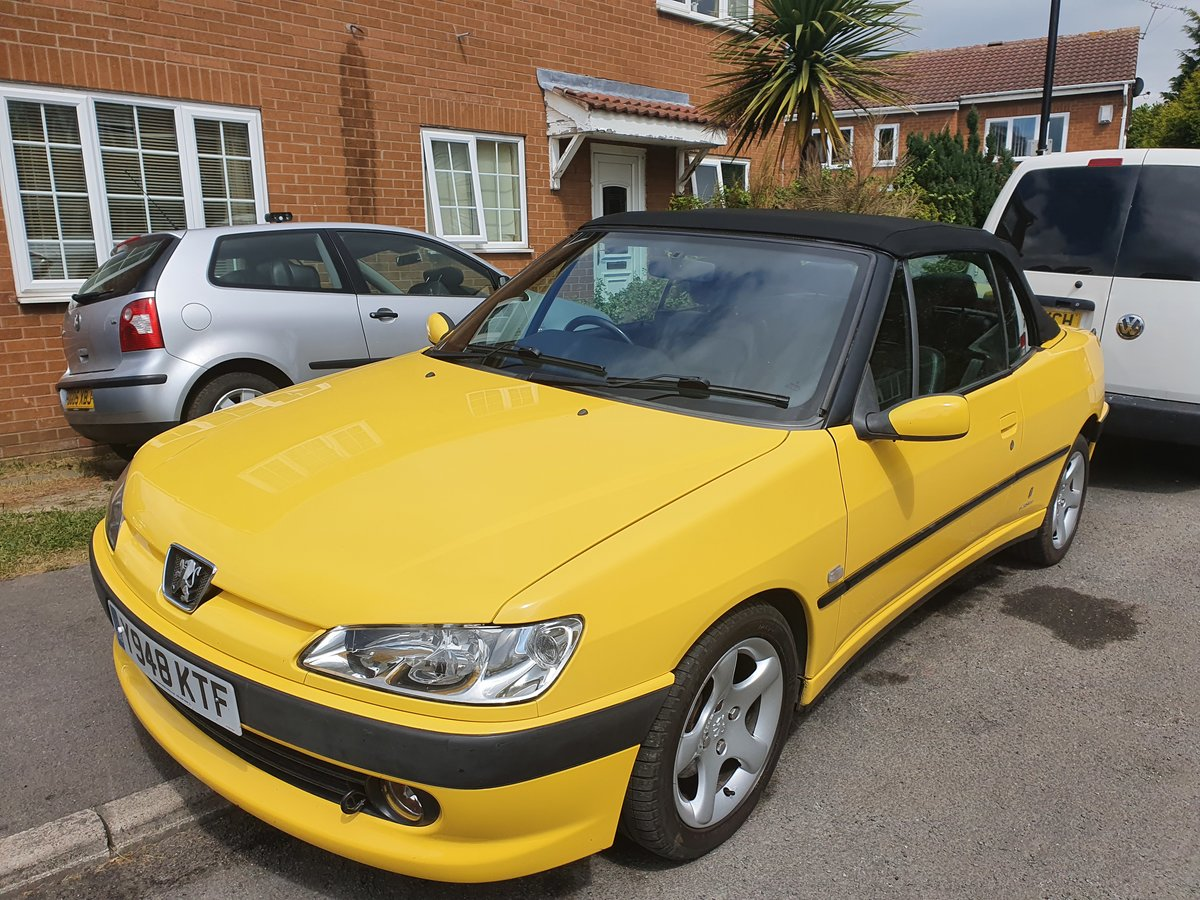 2001 Peugeot 306 Convertible 1.8SE 62k SOLD (picture 6 of 6)