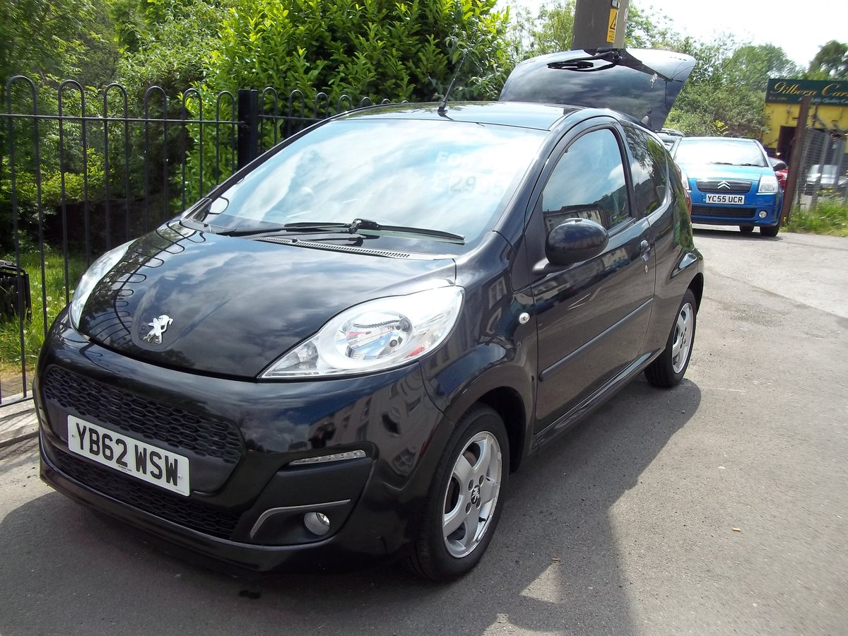 2013 Peugeot 107 Allure 998cc For Sale (picture 1 of 5)