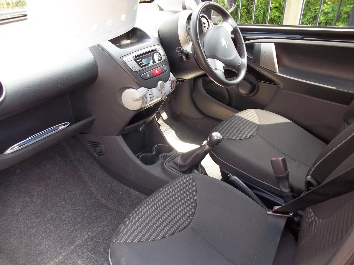 2013 Peugeot 107 Allure 998cc For Sale (picture 4 of 5)