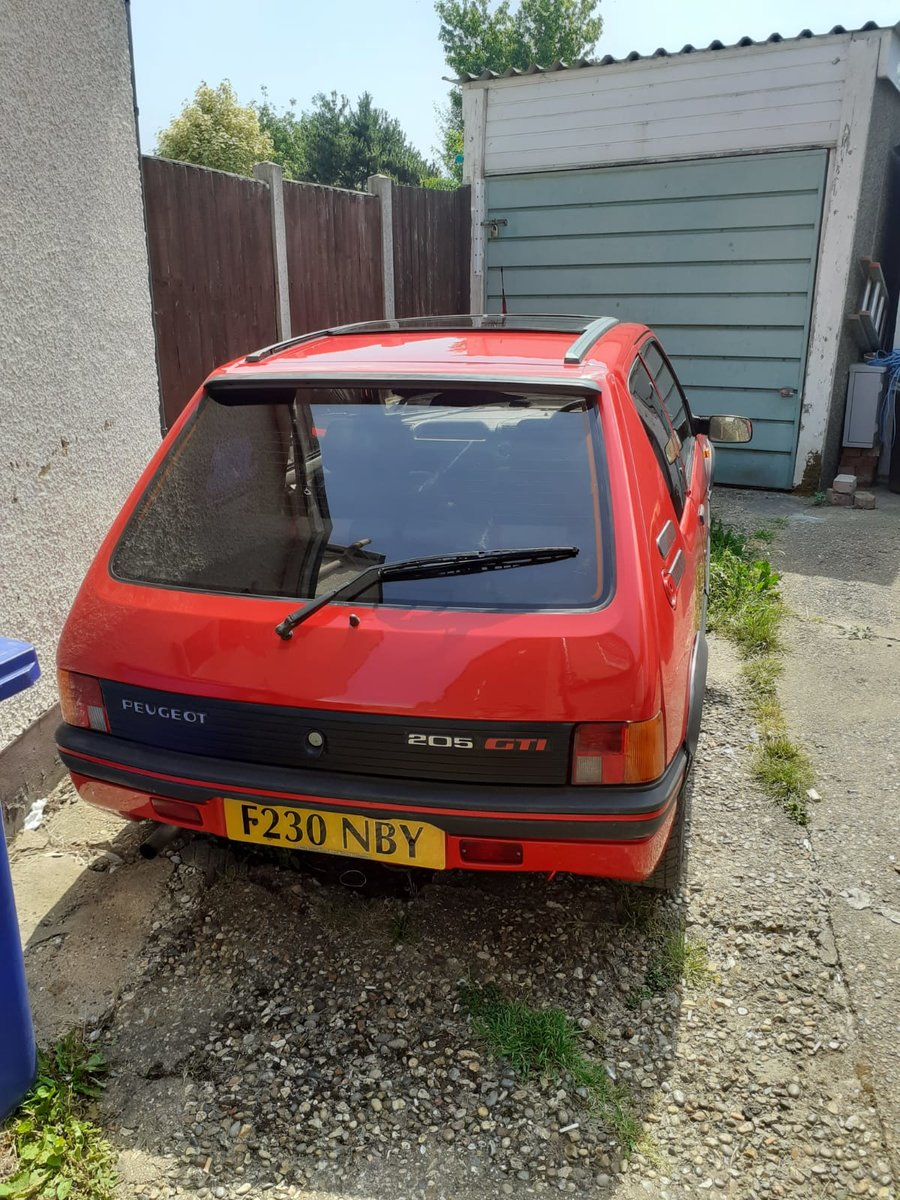 1988 Peugeot 205 Gti 1.9 , Totally Original,Long Mot, For Sale (picture 3 of 6)