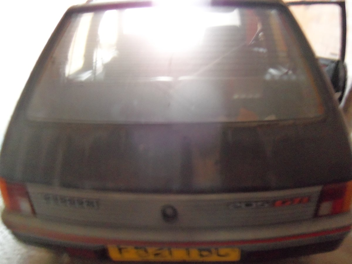 1989 Peugeot 205 GTi 1.9 For Sale (picture 1 of 4)