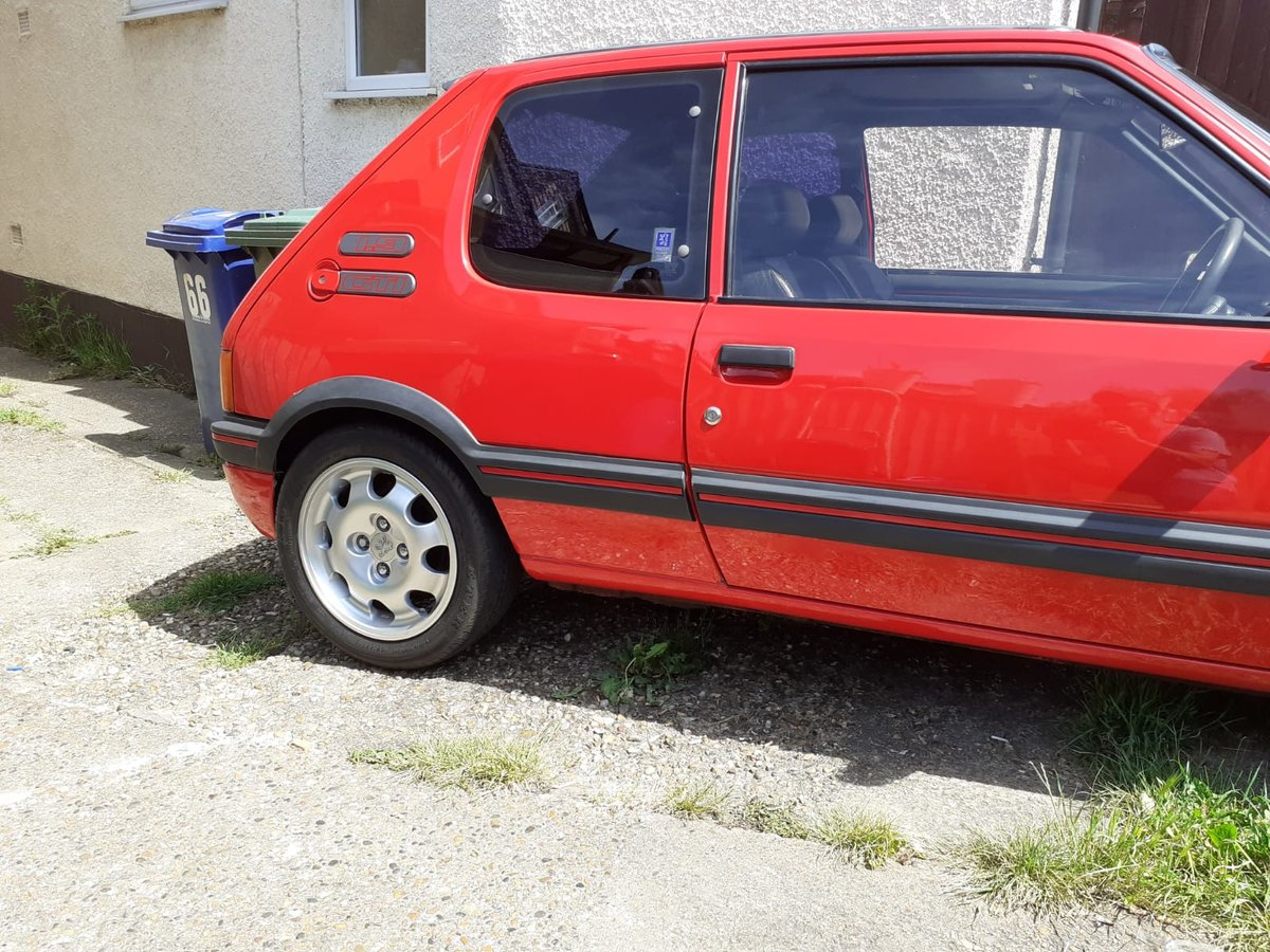 1988 Peugeot 205 Gti 1.9 , Totally Original,Long Mot, For Sale (picture 4 of 6)