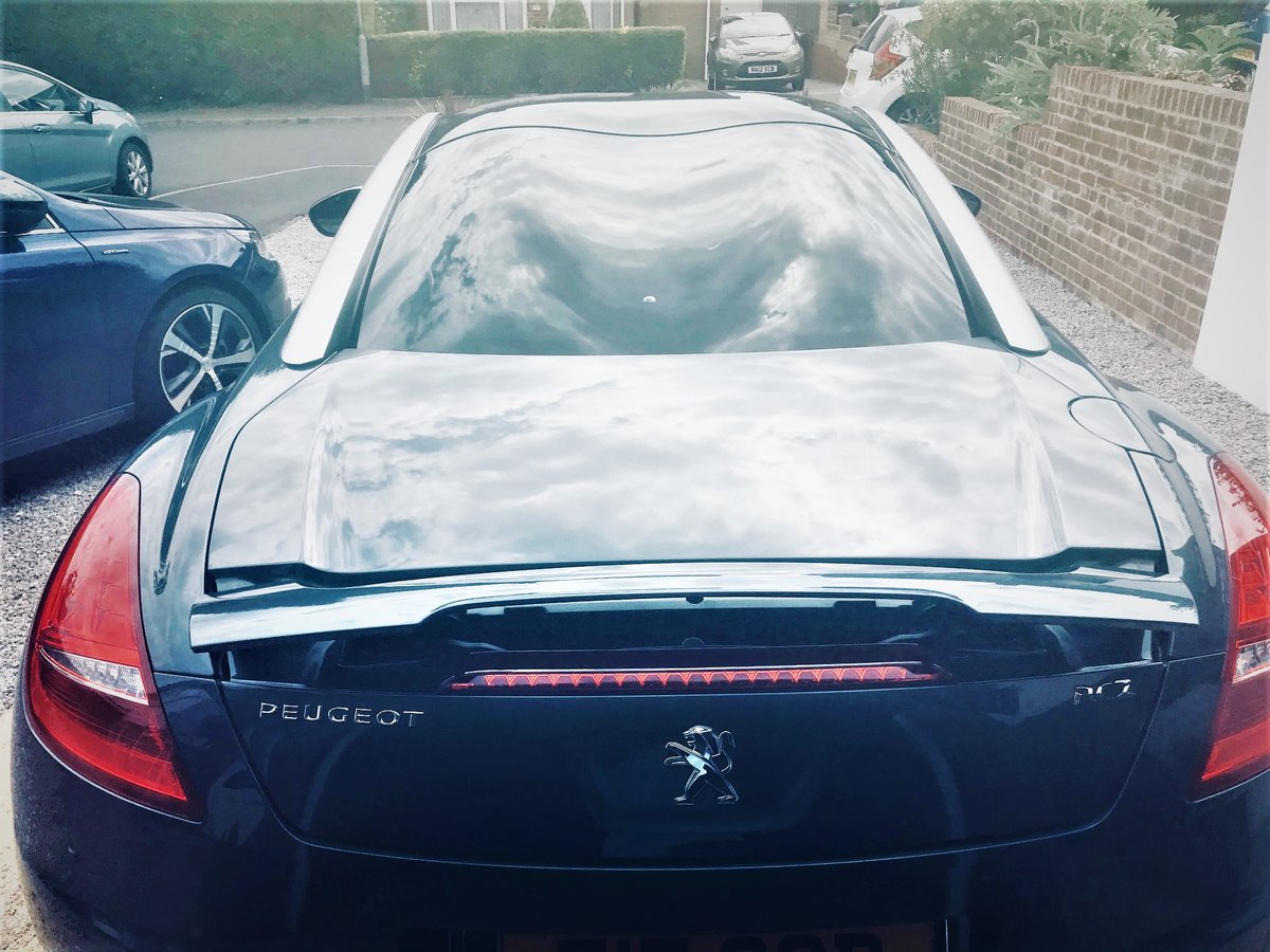 2011 Peugeot RCZ 2.0 GT HDI Diesel 37000 miles from new For Sale (picture 3 of 6)