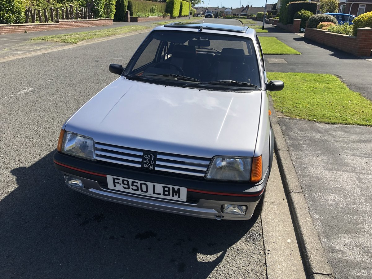 1989 STUNNING PEUGEOT 205 GTI 1.9 SOLD (picture 2 of 6)
