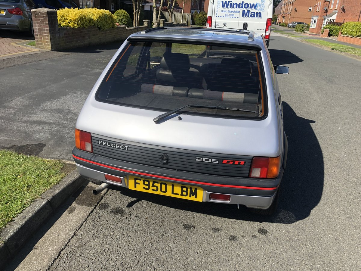 1989 STUNNING PEUGEOT 205 GTI 1.9 SOLD (picture 5 of 6)