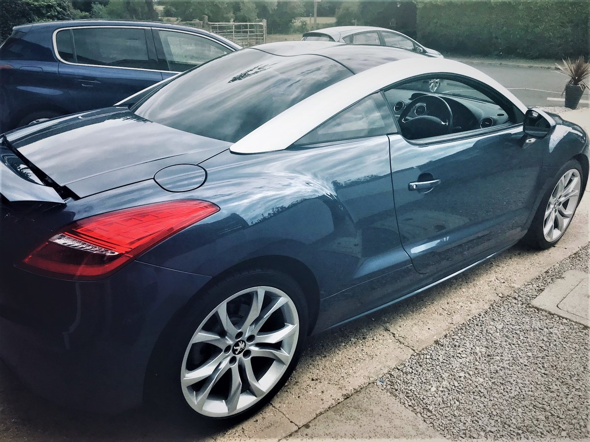 2011 Peugeot RCZ 2.0 GT HDI Diesel 37000 miles from new For Sale (picture 6 of 6)