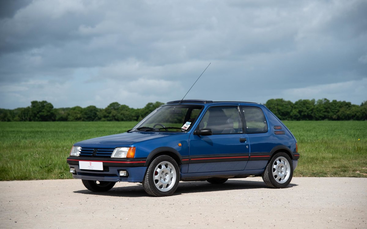 1990 Peugeot 205 GTI 1.9 - 1 of 300 Miami Blue Ltd Ed. For Sale (picture 1 of 6)