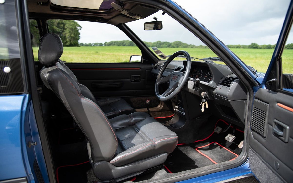 1990 Peugeot 205 GTI 1.9 - 1 of 300 Miami Blue Ltd Ed. For Sale (picture 3 of 6)