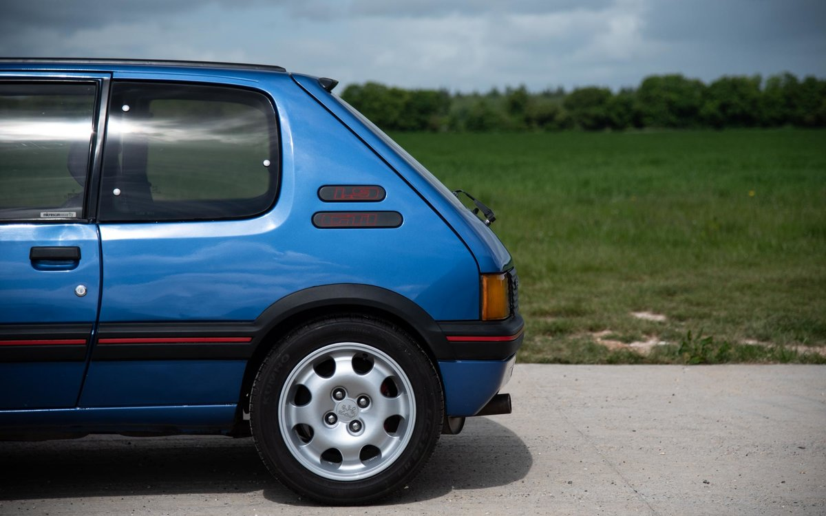1990 Peugeot 205 GTI 1.9 - 1 of 300 Miami Blue Ltd Ed. For Sale (picture 5 of 6)