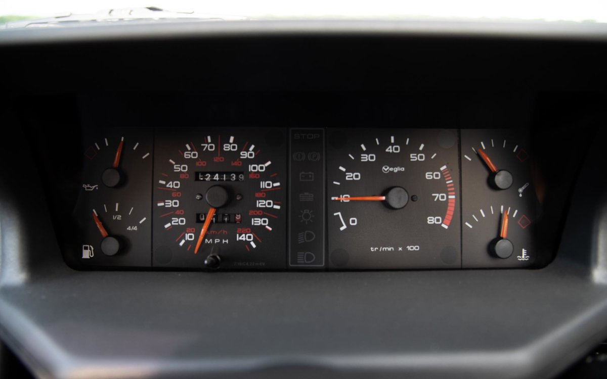 1990 Peugeot 205 GTI 1.9 - 1 of 300 Miami Blue Ltd Ed. For Sale (picture 6 of 6)