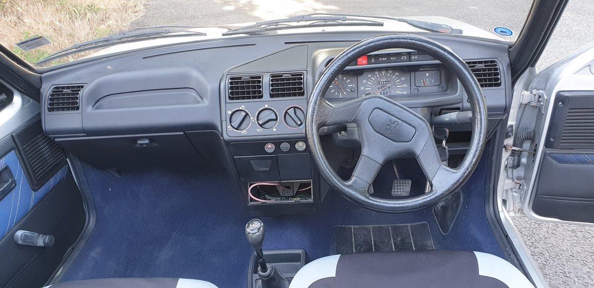 1991 Peugeot 205 Cj Junior 1.4L Cabrio For Sale (picture 4 of 6)