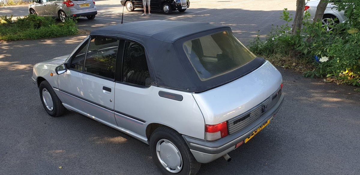 1991 Peugeot 205 Cj Junior 1.4L Cabrio For Sale (picture 5 of 6)