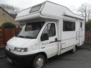 Pergeot Elldis Envoy Motor Home Camper Van