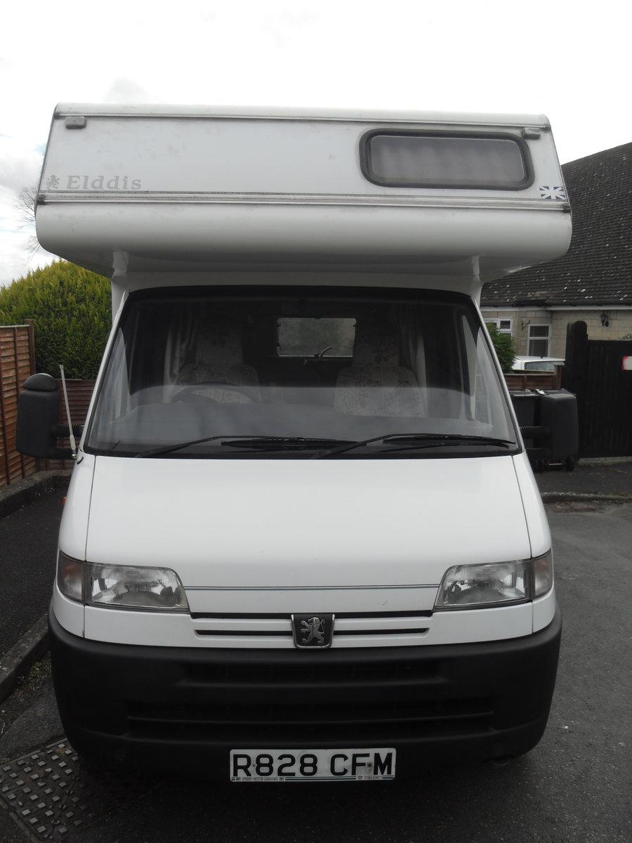 1997 Pergeot Elldis Envoy Motor Home Camper Van For Sale (picture 3 of 6)