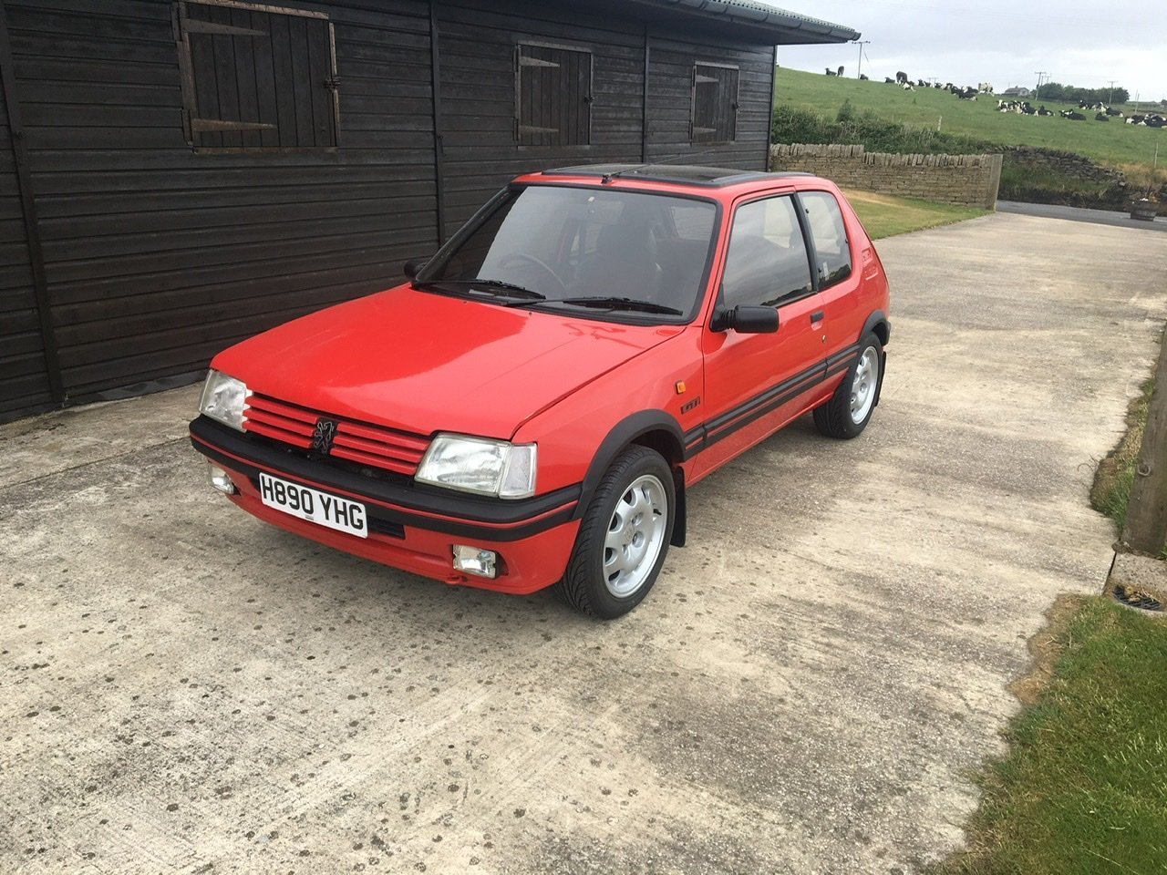1991 Peugeot 205gti 1.9 SOLD (picture 1 of 6)