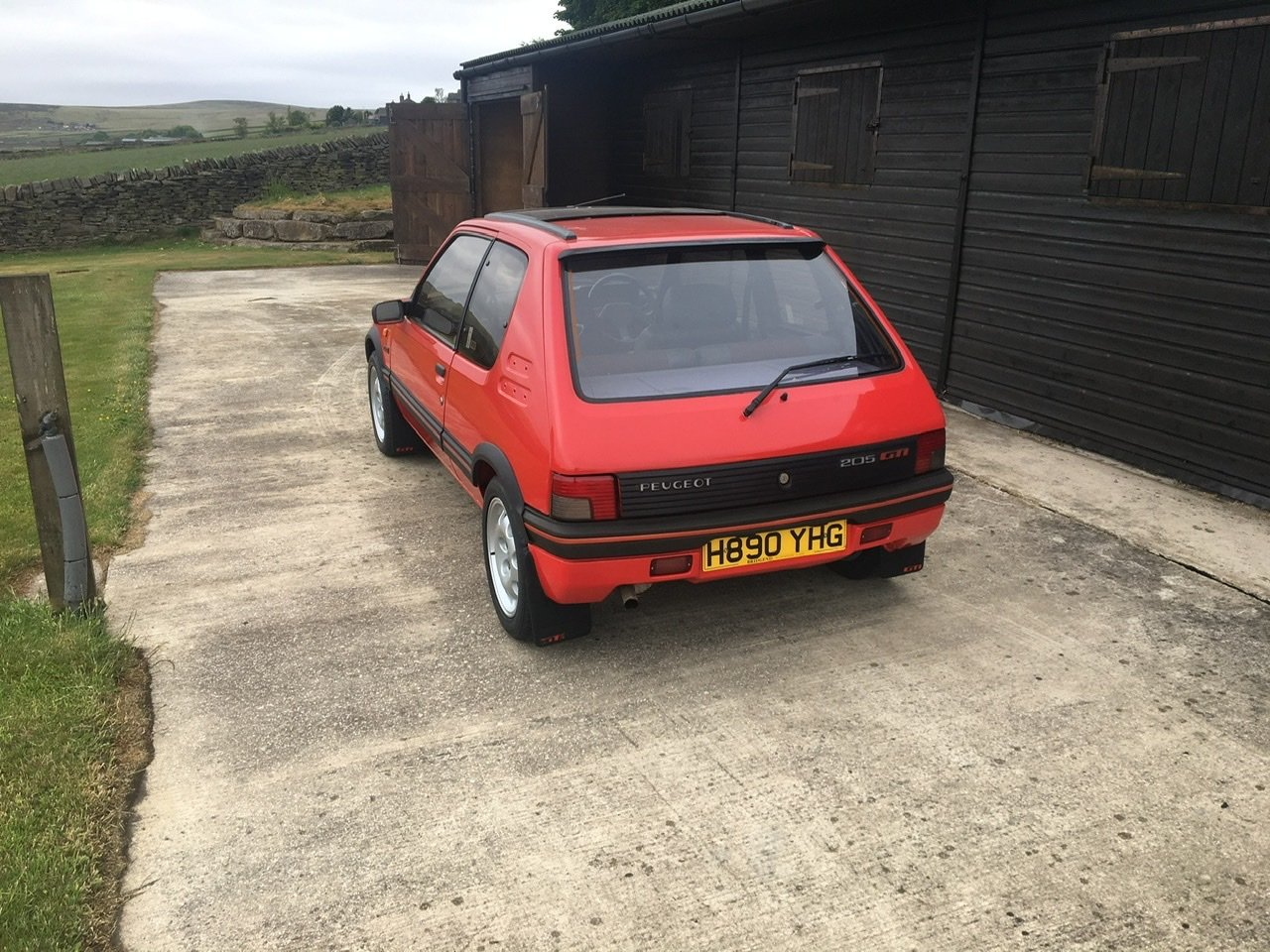 1991 Peugeot 205gti 1.9 SOLD (picture 2 of 6)