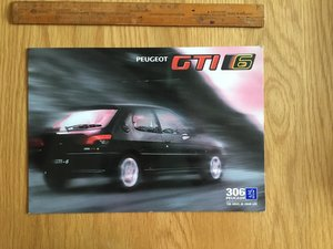 Peugeot 306 GTi 6 brochure