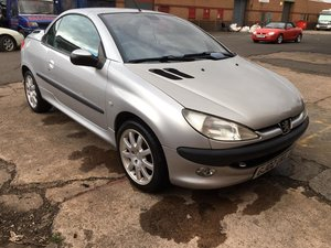 2002 Peugeot 206 CC Convertible - IDEAL SUMMER DRIVE SOLD