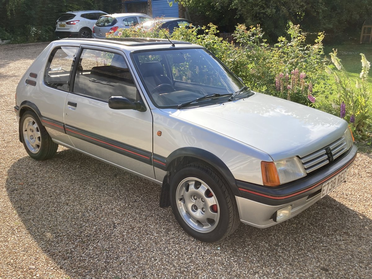 1987 Peugeot 205 1.9 GTI Completely standard, For Sale (picture 1 of 6)